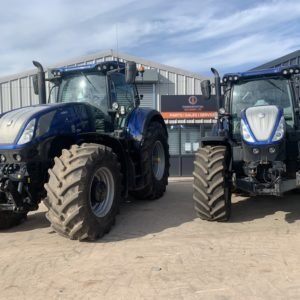 HI-Spec 2017 Blue Power New Holland T7.315 Auto Command Front linkage Optum
