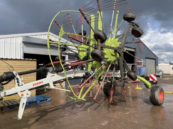 2010 Claas Liner 2900 9m Working Width Twin Rotor Hay Rake Tidy Machine For Age