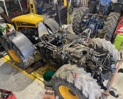 Feb 2021 JCB Fastrac 4220 – Fendt Vario Transmission Rebuild.