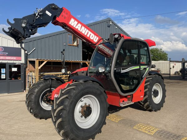 2015 Manitou MLT735 T Elite Loadall / telehandler Very good Tyres Only 4166 Hrs