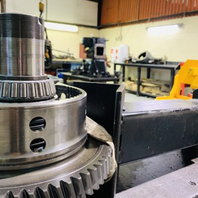 Leading the way with agricultural transmission and engine repair