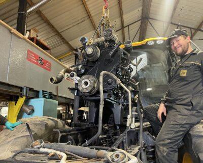 Feb 2021 JCB Fastrac 8250 – Cummins QSC 8.3 Engine Overhaul.