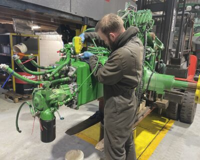 Jan 2021 John Deere 7920 Auto Power Transmission Failure