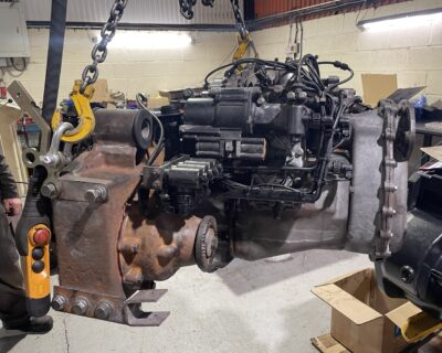 Feb 2021 Mercedes Unimog U400 Transmission Refresh