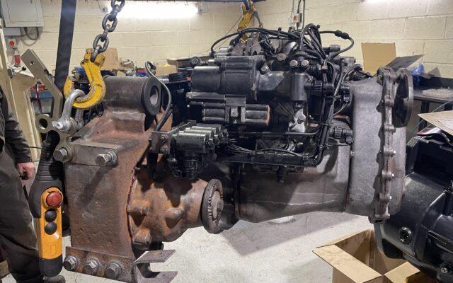 Feb 2021 Mercedes Unimog U400 Transmission Refresh